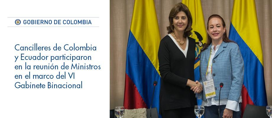 Embajada de colombia en ecuador for Gabinete del ministro del interior